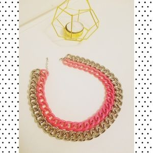 Forever 21 large 2 chain necklace